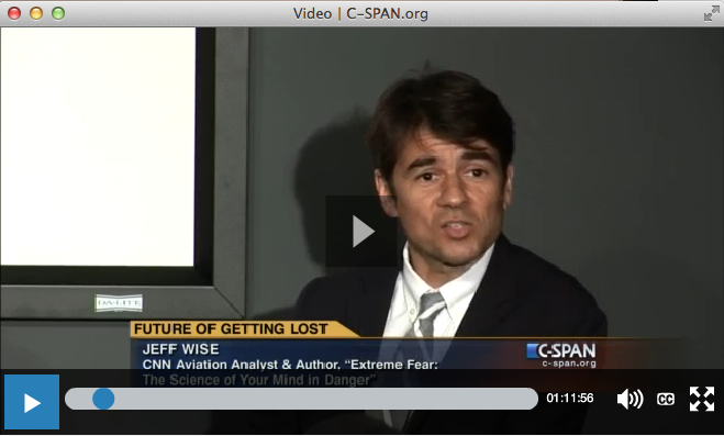 C-Span The Future of Getting Lost