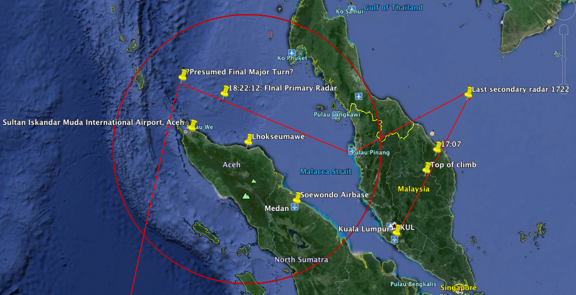 MH370 and the Mystery of Indonesian Radar