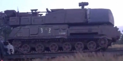 The Buk missile launcher suspected of downing MH17. Source: Bellingcat.